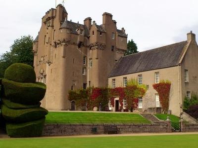 Crathes Castle From Garden