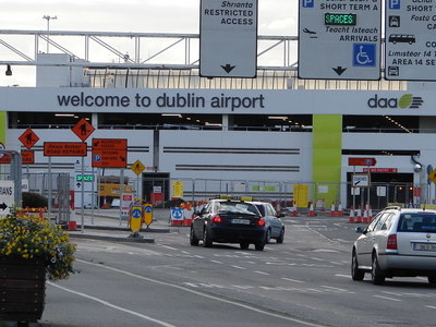 Sign To Dublin Airport