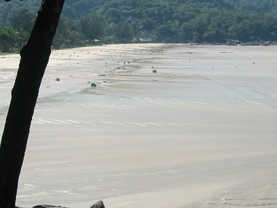 Maximum Recession Of Tsunami Waters