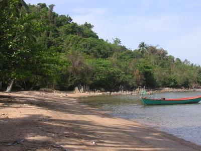 A Beach On Koh Thonsay