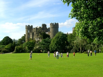 Malahide Castle Stands Within An Extensive Demesne