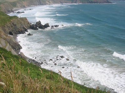 Pembrokeshire Coast Path On Marloes Peninsula