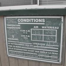 Parlee Beach Information Board