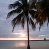 Playa Girón At Sunset