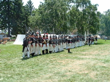 Siege Of Fort Erie Re Enactment