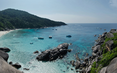 Panorama From The Viewpoint Of Ko Similan