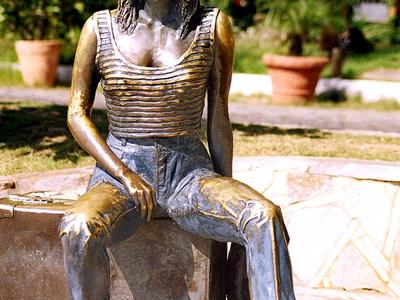 Statue Of Brigitte Bardot In Búzios