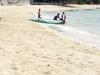 White Sandy Beach Of Tingko Beach