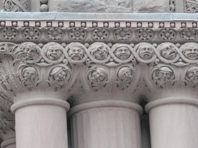 Toronto  Old  City  Hall Column