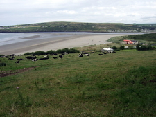 View Over Poppit Sands