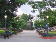A Square In Central Cagua