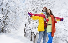 Enjoy Snow On Your Honeymoon