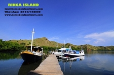 The Jetty Loh Buaya Rinca Island