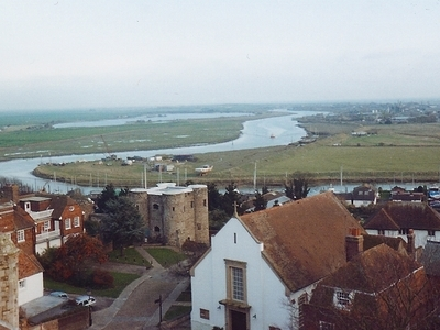 View Across The Marsh From Rye