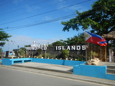 The Hundred Islands Welcome Sign