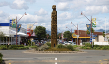 A Statue On Main Street