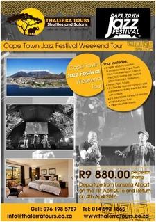 Thalerra Tours Digital Ad Jazz Festival