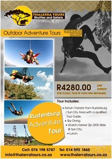 Thalerra Tours Digital Ad Rustenburg Adventure Tour
