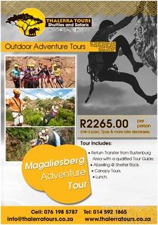 Thalerra Tours Digital Ad Magaliesberg Adventure Tour