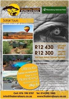 Thalerra Tours Digital Ad Pilanesberg Trip 2