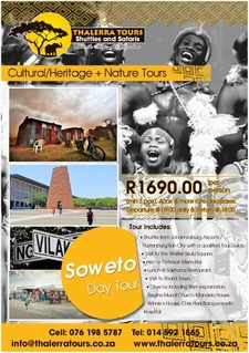 Thalerra Tours Digital Ad Soweto Day Tour