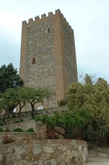 Tower Of The Ruined Castle At Vélez-Málaga