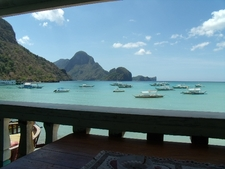 The View Of The Bay, Including Cadlao Island