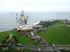 Worlds Second Tallest Statue Of Shiva At Murdeshwar