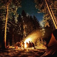 Fireside Overnight Backpack Adventure