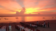 Jimbaran Beach Sunset Best Sunset View In Bali