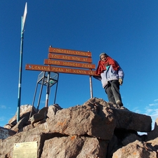 Mt Kenya Summiting