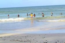 A Swim In The Beach