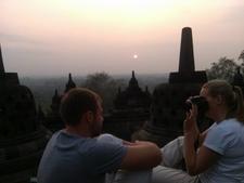 Borobudur Sunrise01