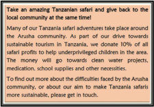 Charity Safari
