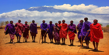 Masai People Of Kenya