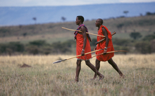 Masai Walking