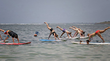 Stand Up Paddle Yoga Sanur 1