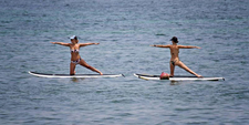 Stand Up Paddle Yoga Sanur 7