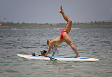 Stand Up Paddle Yoga Sanur 3
