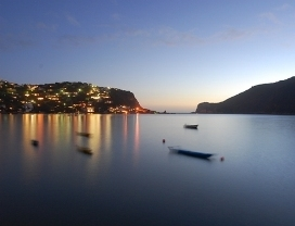 Knysna Lagoon At Night1