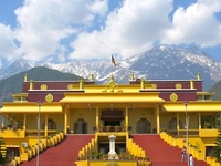 Budhist Temple At Maklodganj