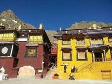 The Tibet Monastery Building