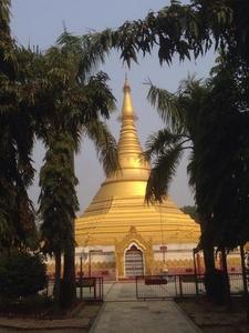 Stupa In Lumbini