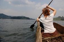 Canoe On Bunyonyi