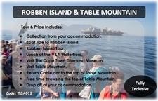 Tsa012 Robben Island Diamond Museum And Table Mountain