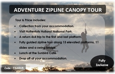 Tsa015 Adventure Zipline Canopy Tour