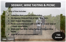 Tsa019 Segway Wine Tasting Picnic