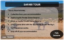 Tsa021 Safari Tour