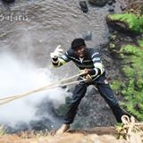 Abseiling At Sipi Falls In Uganda