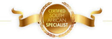 Certfied South African Specialist